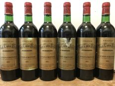 1975 Château Vray Canon Boyer, Canon Fronsac - Total 6 Bottles