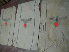 Army food bags of the Wehrmacht with the vintages 1938/41/43