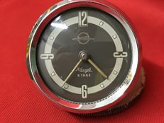 Kienzle 8 Tage clock, manual winding - mechanic - For vintage cars Fiat - Lancia - Alfa Romeo - 1940s/1950s