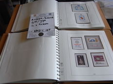 Europe 1966/1970 - Collection of blocks, including imperforate, in 2 Lindner albums