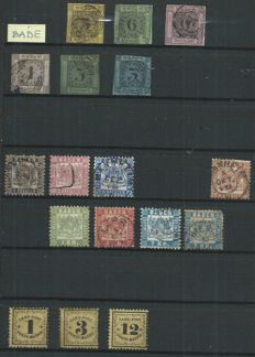 Former German states, 1850/1940, set of 442 stamps