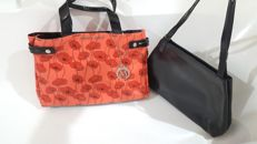 Furla & Armani, nice shoulder tote bags ***No minimum price***