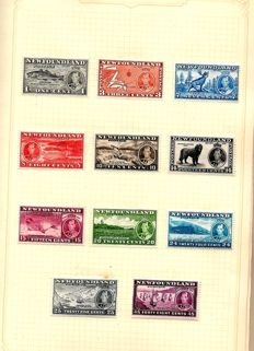 British Commonwealth -1937 Coronation, 2 complete sets of 202 stamps each, together in album