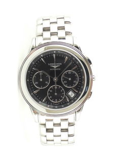 Longines - Flagship Chronograph - L4.718.4.52.6 - Men - 1992