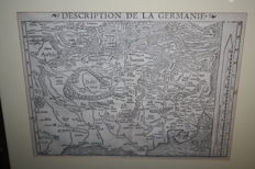 Centraal-Europa; Sebastian Münster - Description de la Germanie - ca. 1575