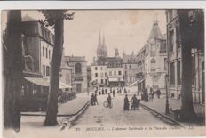 very good lot of 90 old postcards of France