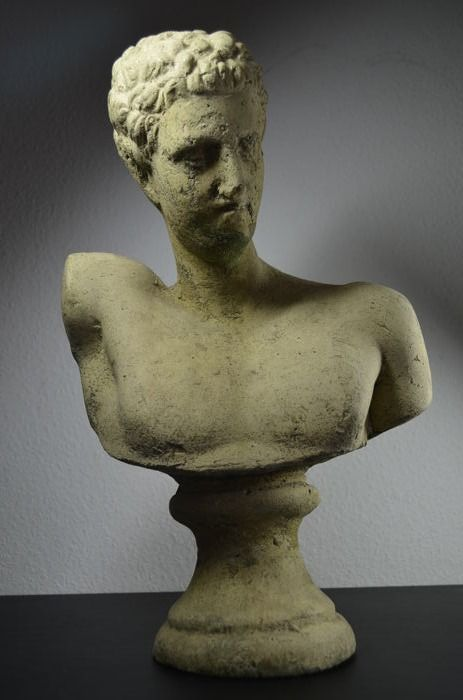 Greek statue of the god Hermes - Greece - 20th century