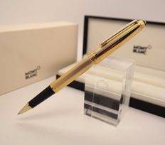 Rollerball Pen Montblanc Solitaire Vermeil Barley - W-Germany - RARE Model