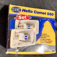 Classic Hella Rally fog lights Comet 550, mint condition!