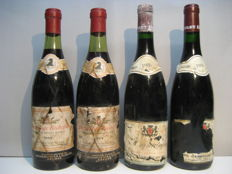 1969 Jaboulet-Vercherre Hermitage Rochefine, two bottles, 1986 Paul Jaboulet Aîné Hermitage, two bottles