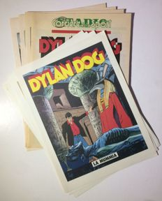 Dylan Dog - 4 booklets + 4 lithographs - Ombre - Full story - paperback - 1992