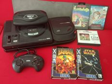 Sega Megadrive + Mega CD + 32X (with games) PAL format