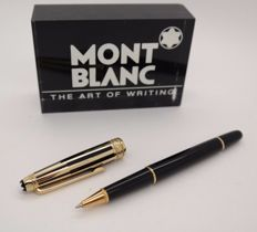 Rollerball Pen MONTBLANC Meisterstück Solitaire Doue - Gold & Black