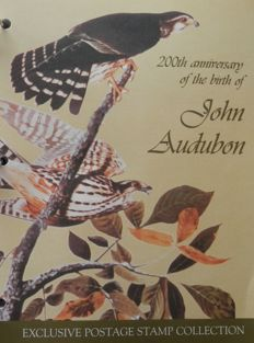 Thematic - Audubon Birds in special album