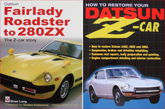 2 libros - Datsun Fairlady Roadster to 280ZX - 2006 (2 objetos)