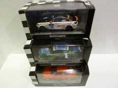 Minichamps - Scale 1/43 - Lot with 3 models: BMW VLN, DTM & 320 i street