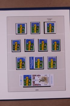 Europa Stamps 2000/2002 - Complete collection in Lindner Falzlos T-type preprint album