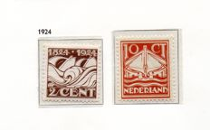 The Netherlands and Netherlands New Guinea, 1922-1958 - selection of sets on album pages