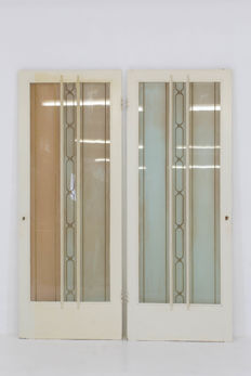 The Reens Brothers - a pair of Art Deco doors