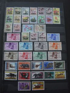 Republic of the Congo 1960/1964 - Collection between COB 382/566