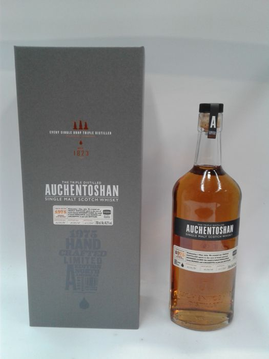 Auchentoshan 1975 (40 years old) - Limited Edition of 500 bottles