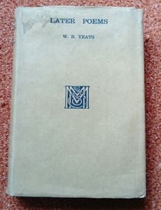 W.B. Yeats - Later Poems - 1922