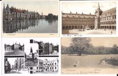 The Netherlands, 350 postcards, small format, both black/white and colour