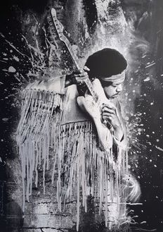Mr Brainwash - Jimi - (SIlver)
