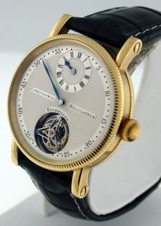 Chronoswiss - Regulateur Tourbillon - Rose Gold 18k - CH3121R - Masculin - 2000-2010