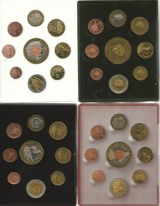 Europe - probe sets 2004 from 5 different countries (10 sets)