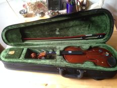 Half violin with accessories