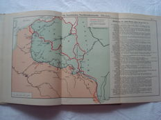 German Empire; Compilation with 19 maps and sketches of the World War 1914/17 2nd part - 1916