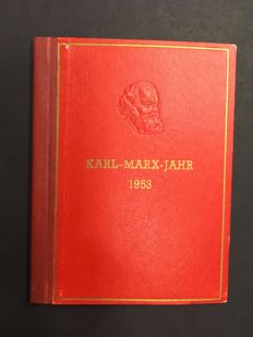 DDR 1953 - Karl Marx Year - Special issue booklet
