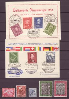 Germany and area 1933-53, selection