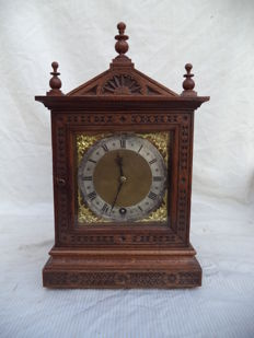 W & H table clock - Winterhalder & Hofmeier - Germany - around 1880