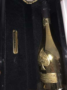 Armand de Brignac, Ace of Spades Brut Gold - 1 bottle in suitcase (75cl)