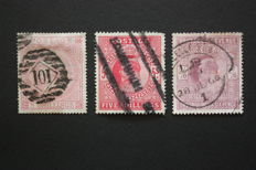 Great Britain - Stanley Gibbons 126/260 and 263