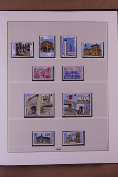 Europa Stamps 1990/1992 - Complete collection in Lindner Falzlos T-type preprint album
