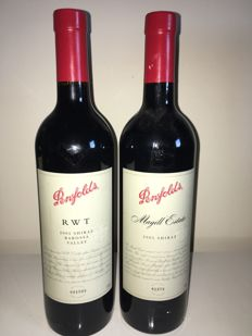 2005 Penfolds RWT Shiraz Barossa Valley & 2005 Penfolds Magill Estate Shiraz - 2 bottles in total