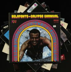 "Lot of seven Harry Belafonte albums including ""(Returns to) Carnegie Hall"", ""Jump up calypso"" and more"