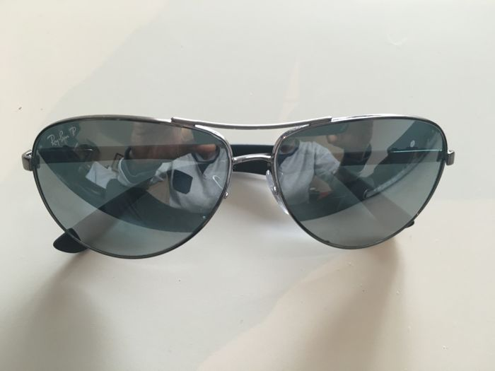 a5a28d4db3 Mens Unisex Rayban - Ray-Ban - Carbon Fibre - Polarised Sunglasses ...
