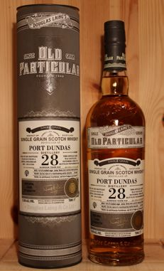 Port Dundas 1988/2016, 28 Glorious years old Single Grain Scotch Whisky incl. Box,  Old Particular / Douglas Laing & Co, closed distillery