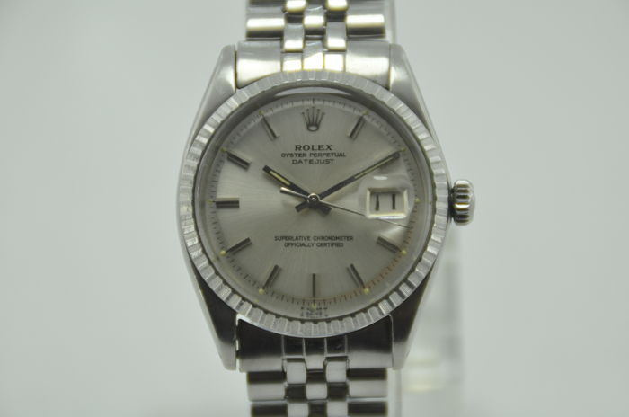 Rolex Oyster Perpetual Datejust Ref 1603 Automatic Caliber 1570 Men S Watch Catawiki