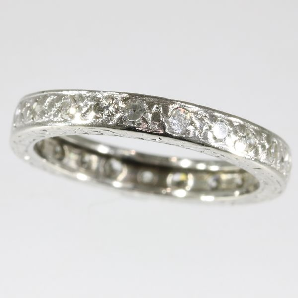 Estate eternity band platinum with 0.70crt brilliant cut diamonds
