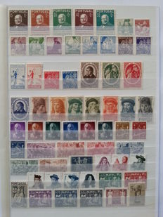 Portugal 1940/1953 – Stamp Collection with several complete sets
