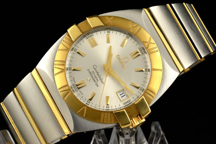 Omega Constellation Double Eagle Staal-goud - 42mm