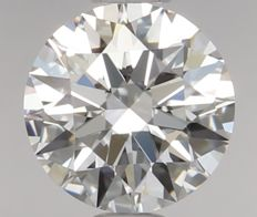 0.55ct Round Brilliant Diamond D IF IGI 3EX - SEALED - Serial# 632-Original images