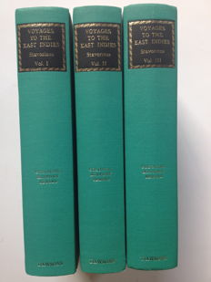 V.O.C.; J.S. Stavorinus - Voyage to the East Indies - 3 volumes - 1969