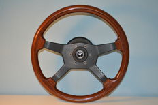 Mercedes Benz - Raid Classic wood steering wheel with hub 38 cm