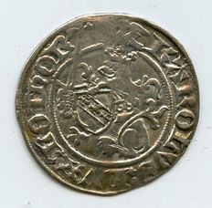 Germany-France - Charles II (1390-1431), AR gros, 1390-1420